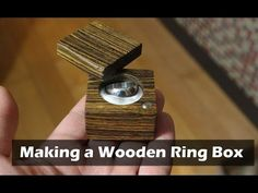 Making a Wooden Ring Box: 9 Steps (with Pictures)