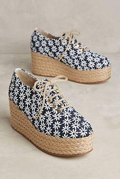 46ea7822d3 The Office of Angela Scott Miss Simone Espadrille Oxfords Espadrille Shoes