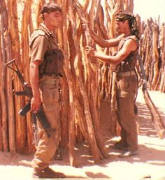 SADF recces. South African / Rhodesian Bush War.