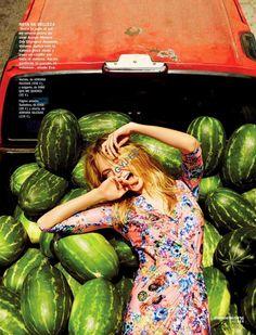 """Days of Sun"" by Rafa Gallar for Cosmopolitan Spain June 2015"