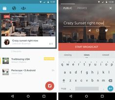 Twitter brings live-streaming app Periscope to Android
