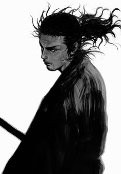 """it is easy to surpass a predecessor, but difficult to avoid being surpassed by a successor. Manga Artist, Comic Artist, Manga Anime, Vagabond Manga, Karate, Inoue Takehiko, Miyamoto Musashi, Heart Illustration, Samurai Art"