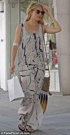 Stylish: Sienna Miller