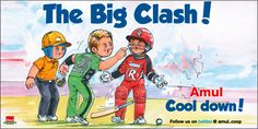 Shane Warne & Marlon Samuels fight in The Big Bash Cricket tournament  - Jan13