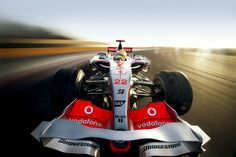 Lewis Hamilton  Vodafone McLaren Mercedes MP4-23  Photo by Patrick Gosling