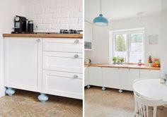 Białe szafki w przestronnej kuchni - Lovingit.pl