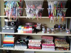 My Craftroom! #craftroom  #scraproom #crafts #organizing