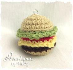 Hamburger EOS Lip Balm Holder. Hand por HeartspunByWendy en Etsy