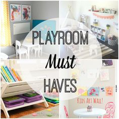 Play Room Must Haves