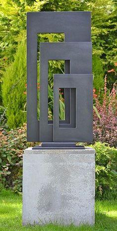 Moderne Gartenkunst Faszinierende Gartenskulptur-Ideen 16 - Everything About Charcoal Drawing and Sculpture Outdoor Sculpture, Outdoor Art, Sculpture Ideas, Outdoor Decor, Yard Art, Art En Acier, Yard Sculptures, Metal Garden Sculptures, Metal Garden Art