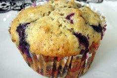 Bisquick Blueberry Muffins - so quick to make and tasted pretty good