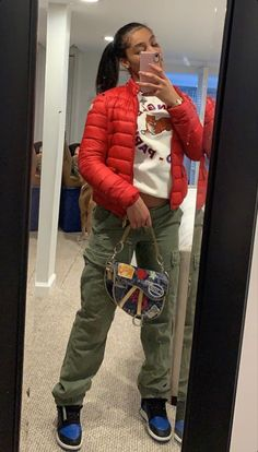 Boujee Outfits, Cute Swag Outfits, Chill Outfits, Teen Fashion Outfits, Dope Outfits, Trendy Outfits, Mode Streetwear, Streetwear Fashion, Tomboy Fashion