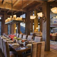 Country/Rustic (Country) Homey Dining Room Photos