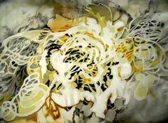 LACEFORMIS silk painting