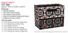 thirty-one summer 2013 pink medallion   Thirty One Gifts Fold and N File Pink Pop Medallion Organizer New 2013 ...