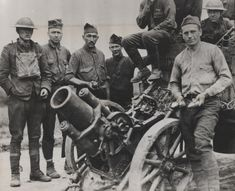 A German trench mortar–Minnenwerfer–captured at the Battle of Belleau Wood by the US Marines 2nd Battalion, 5th Regiment under the command of Col. Frederic M. Wise.