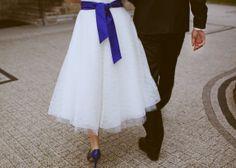 the lovely dress...
