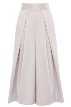 TELERI STRUCTURED CULOTTES IN PALE PINK