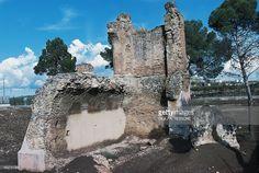 Roman remains, Canosa di Puglia, Apulia, Italy. Roman civilization.