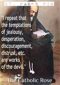 Padre Pio. Well explained.