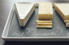 Chalkboard cheese platter......ahmazing