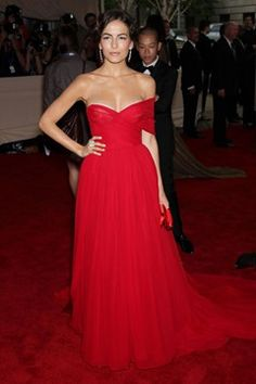 Met Gala 2010. American Woman: Fashioning a National Identity. Camilla Belle.