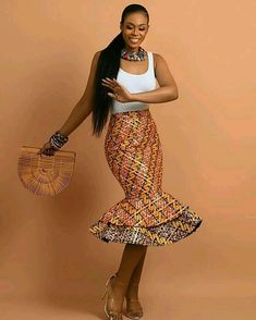 The African Ankara dress styles are in arguably the most popular dress styles trending in the world of fashion. Discover latest african dress styles in 2019 African Inspired Fashion, Latest African Fashion Dresses, African Dresses For Women, African Print Fashion, African Wear, African Attire, African Women, African Prints, African Style