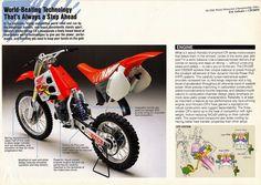 Mx Bikes, Honda Bikes, Motocross Bikes, Vintage Motocross, Honda Motorcycles, Cars And Motorcycles, Honda Motorbikes, Japanese Motorcycle, Dirtbikes