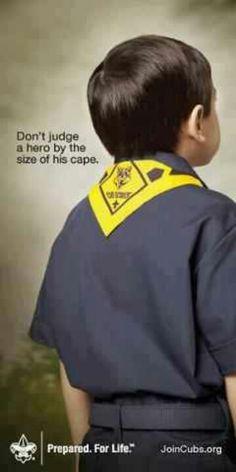 Cub scout hero