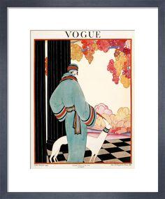Vogue, Late October 1922 Art Print by Helen Dryden   King & McGaw