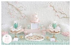 Butterfly pastel party