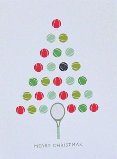 Cricket Ball Christmas Card by The Sardine's Whiskers, the perfect gift for Explore more unique gifts in our curated marketplace. Christmas Store, Christmas Fun, Christmas Cards, Tennis Party, Play Tennis, Tennis Crafts, Tennis Pictures, Tennis Quotes, Tennis Players