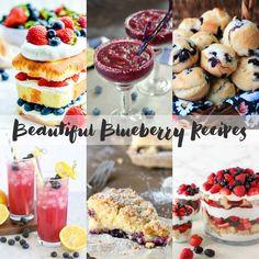 No Bake Blueberry Cheesecake - Bread Booze Bacon Blueberry Desert Recipes, No Bake Blueberry Cheesecake, Easy To Make Desserts, Bacon, Deserts, Bread, Breakfast, Food, Morning Coffee