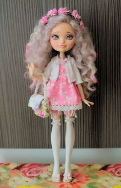 OOAK Ever After High Holly O'Hair Repaint by kroll4ik on Etsy