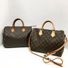 Older  Newer Louis  Title:Louis Vuitton Monogram Speedy Bandouliere 30 w/strap lock  Key in great condition Price:$1049.99 Item #:6513-13045  Title:Louis Vuitton Monogram Speedy 30 $399.99 #15898-724 Location: Buckhead To purchase call  770.390.0010 ex 1  #alexissuitcase #buckhead #atl #atlantaconsignment #thriftatl #resale #highenddesigner #consignment #luxury #designer #resaleatlanta #boutique #atlanta #fashioninspiration #shopmycloset #upscaleresale #louisvuitton #louisvuittonbag…