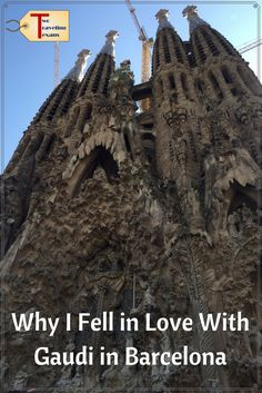 A travel blog with tips about visiting some of the amazing sites that were designed by Antoni Gaudi's in Barcelona Spain. via @2travelingtxns