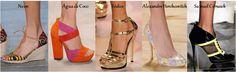 Sapatos tendências primavera/verão2014