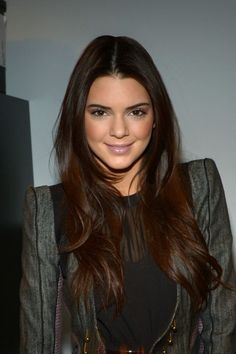 Definitely want Kendall Jenner's hair color if i'm going for change but not a HUGE change!