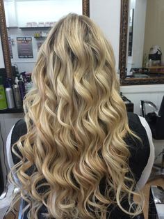 The team at Braids & Extensions Hair Salon created some stunning results using Halo Hair Extensions!