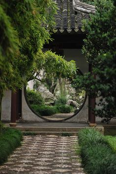 Lingering Garden, Suzhou. Spaces on spaces