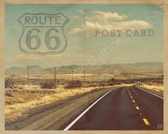 Route 66 Postcard | Arizona