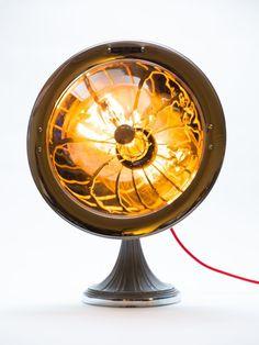 ampoule vintage et ventilateur Deco Luminaire, Decoration, Home Appliances, Fan, Boutique, Lighting, Decor, House Appliances, Appliances