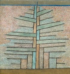 Paul Klee  The Pine Tree  painting size: 53 x 50.5 cm