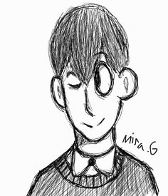 Digital Drawing or Wirt by Mira.G (My signature was so sloppy this is! 😰)