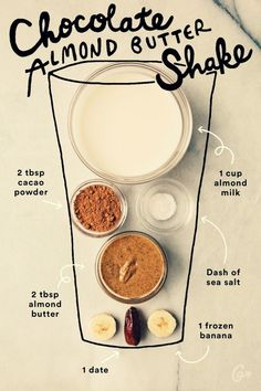 Easy Smoothie Recipes, Easy Smoothies, Smoothie Drinks, Protein Smoothies, Smoothie Diet, Diet Drinks, Clean Smoothie, Smoothies Sains, Fitness Smoothies