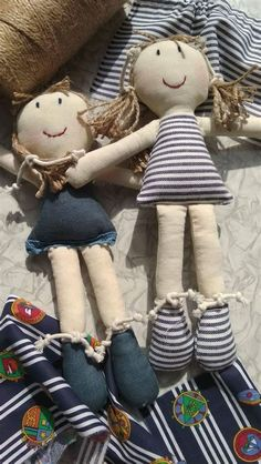 Doll Sewing Patterns, Sewing Dolls, Doll Clothes Patterns, Homemade Dolls, Cat Doll, Waldorf Dolls, Soft Dolls, Doll Crafts, Fabric Dolls