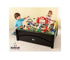 Metropolis Train Table & Set-- 46.5 x 32.8 x 16.6 inches $148, one Cole has. Comes with train set and lg drawer
