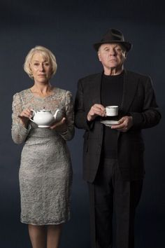 via: sabinerondissime  #anthony hopkins #helen mirren #tea