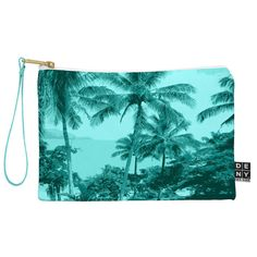 Deb Haugen Aloha Morning Pouch | DENY Designs Home Accessories