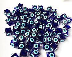 Evil eye safety pins | Etsy AU Eye Safety, Safety Pins, Evil Eye, Brooch, Eyes, Handmade, Hand Made, Brooches, Craft